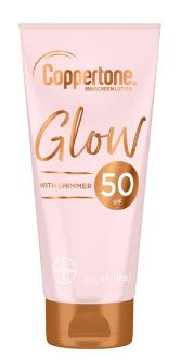 Coppertone - Glow With Shimmer Sunscreen Lotion SPF 50 | Your Brand Of Beauty