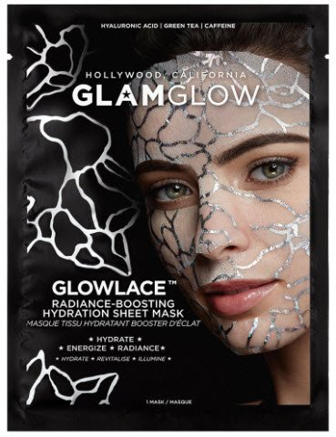 GlamGlow - Glowlace Radiance-Boosting Hydration Sheet Mask | Your Brand Of Beauty