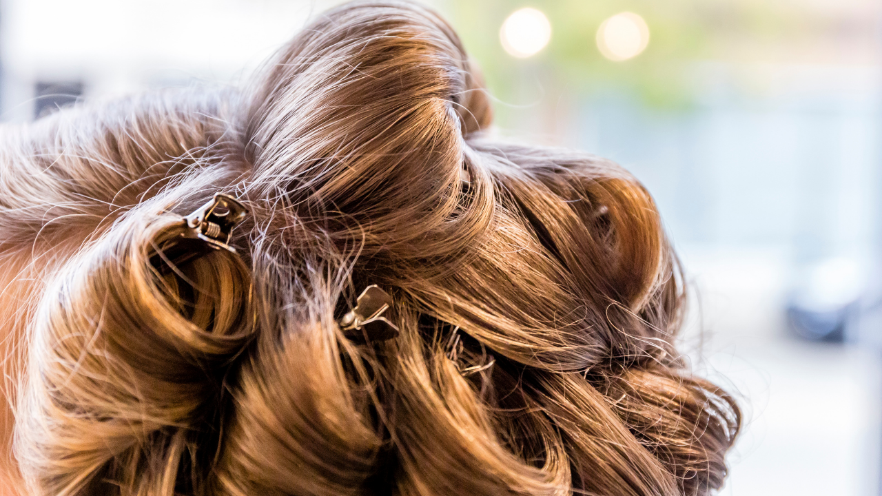 Pin Your Curls While They Cool Down | Your Brand Of Beauty