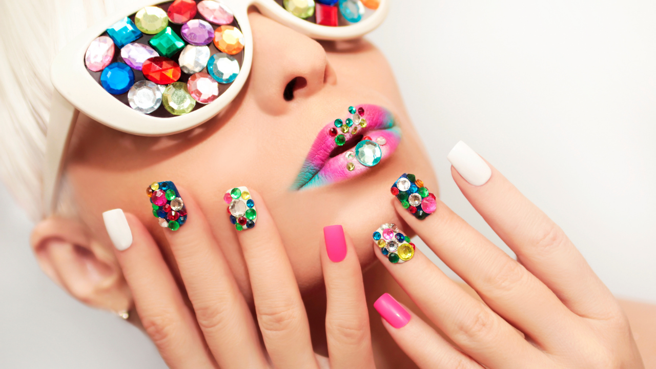 Blinged Out or Bejeweled Nails | Your Brand Of Beauty