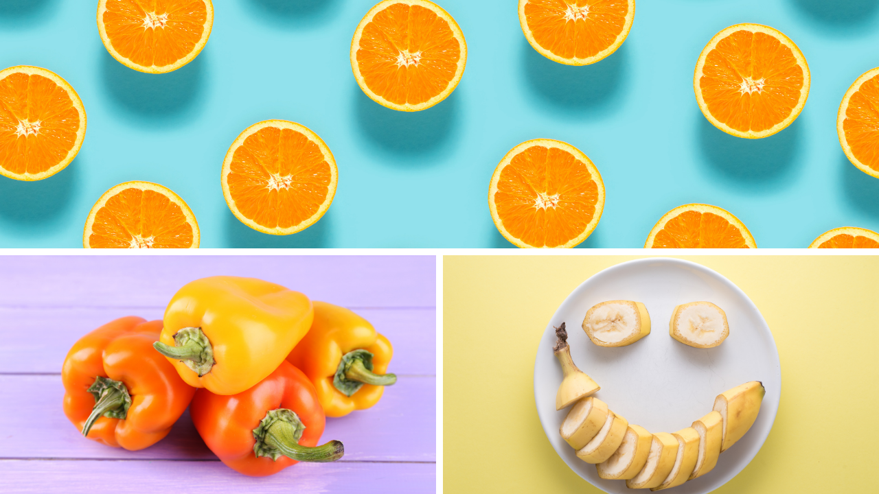 Yellow and Orange Fruits and Vegetables | Your Brand Of Beauty
